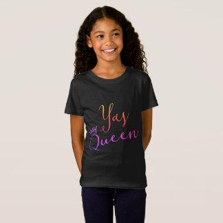 Reine de Yas !  T-shirt de Childs de couronne