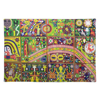 Reis van Boho van de Kunst van Mexico van Oaxaca Onderlegger