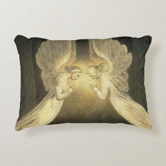Religion vintage, portrait de prière d'anges coussins décoratifs
