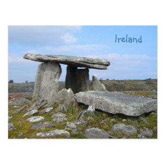 Relique en pierre de l'Irlande Carte Postale