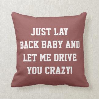 Remettez-vous juste le bébé oreiller