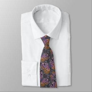 Remous de cuivre de papillon de Boulder Cravate