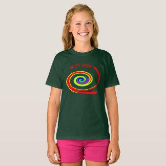 Remous multicolore t-shirt