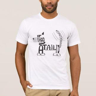 Remuez votre T-shirt de queue pour les amoureux de