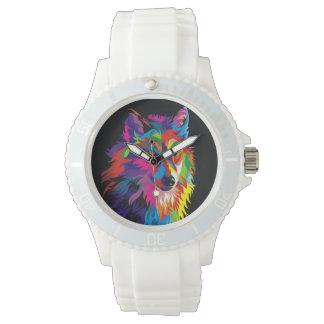 Renard coloré montre