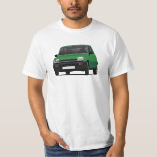Renault 5 - Illustration verte - T-shirt