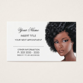 Rendez-vous de beauté cartes de visite