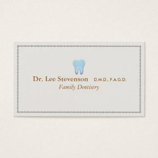 Cartes de visites pour les dentistes à personnaliser.