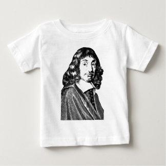Rene Descartes T-shirt Pour Bébé