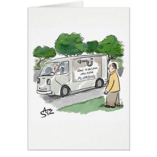 Rene drôle Magritte pas une carte de voeux de