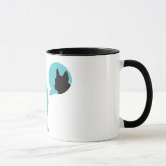 RENIFLEZ le logo de bulle + tasse de frenchie