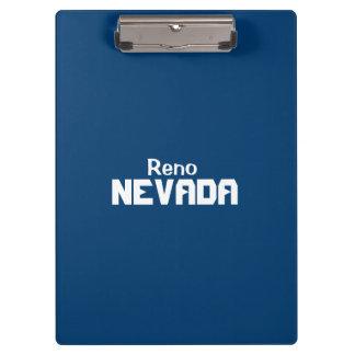Reno, het Klembord van Nevada