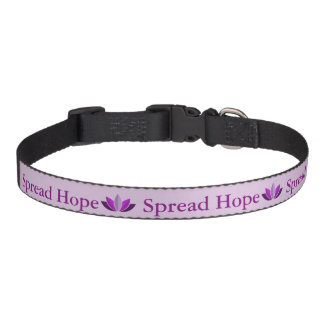 Répandez le collier de chien d'espoir