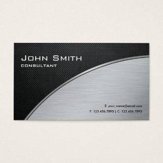 Réparation argentée moderne élégante cartes de visite