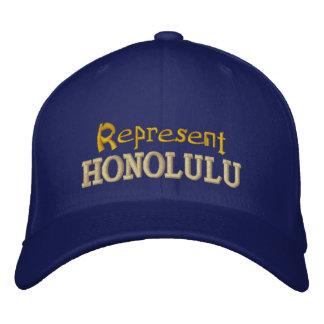Représentez le casquette de Honolulu