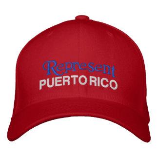 Représentez le casquette de Porto Rico