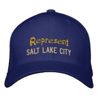 Représentez le casquette de Salt Lake City