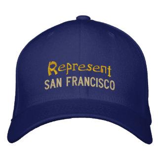 Représentez le casquette de San Francisco