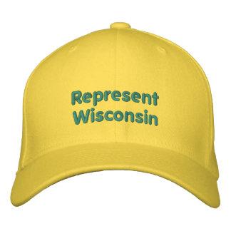 Représentez le casquette du Wisconsin
