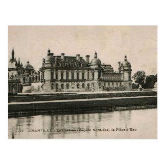 Reproduction 1925 de château de château de carte postale