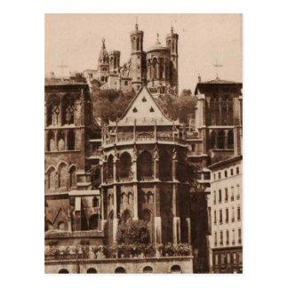 Reproduction 1925 de Lyon Abside de Saint Jean Cartes Postales