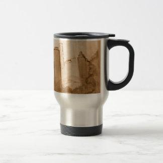 """Reproduction de beaux-arts de sépia """"de NYC Mug De Voyage"""