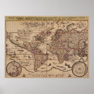 """""""Reproduction de XVIème siècle de carte de Vieux M"""