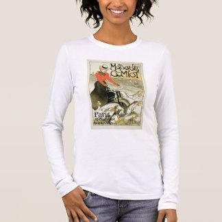 Reproduction d'une publicité par affichage Comiot T-shirt À Manches Longues