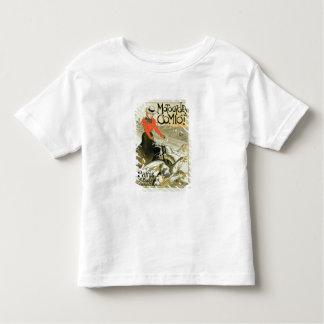 Reproduction d'une publicité par affichage Comiot Tee Shirt