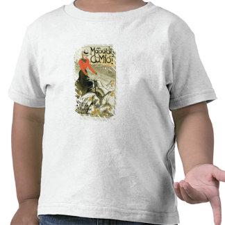 Reproduction d'une publicité par affichage Comiot T-shirt