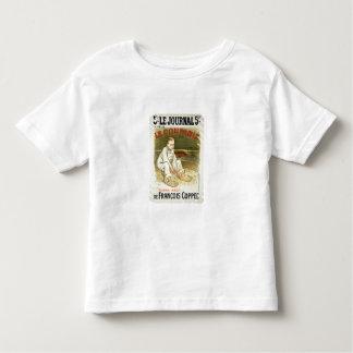 Reproduction d'une publicité par affichage le tee-shirt