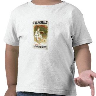 Reproduction d'une publicité par affichage le t-shirt