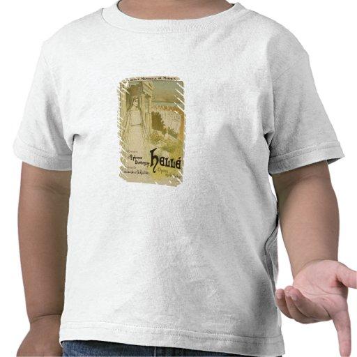Reproduction d'une publicité par affichage l'opéra t-shirt