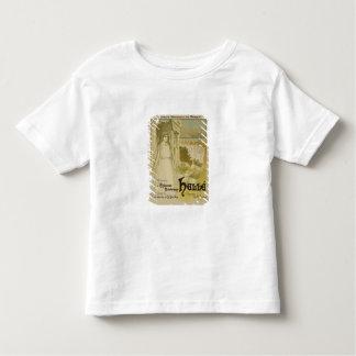 Reproduction d'une publicité par affichage l'opéra tshirt