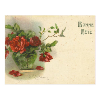 Reproduction vintage de carte postale de Catherine