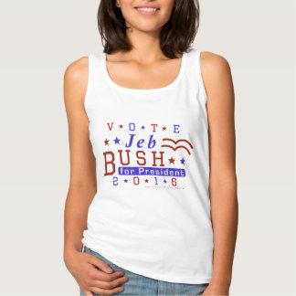 Républicain 2016 de président élection de Jeb Bush Débardeur