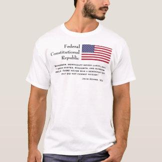 République constitutionnelle fédérale t-shirt
