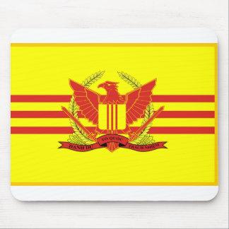 République de drapeau de forces militaires du tapis de souris