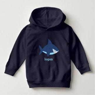 Requin bleu d'amusement pull à capuche