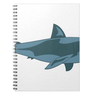 Requin Carnet À Spirale