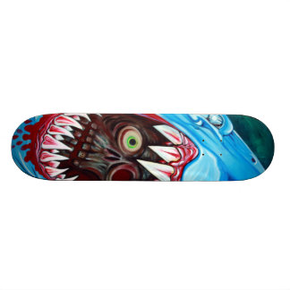 Requin CONTRE la planche à roulettes de zombi Skateboards Cutomisables