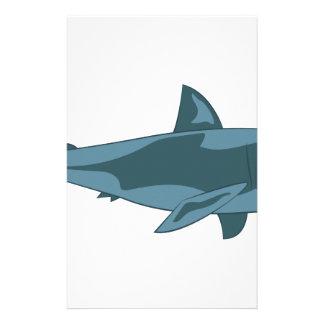 Requin Papier À Lettre Customisable