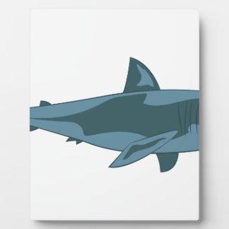 Requin Plaque Photo