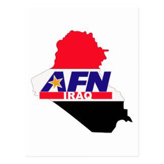 Réseau Irak de forces armées Carte Postale