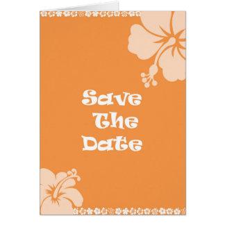 Réservez la date carte de vœux