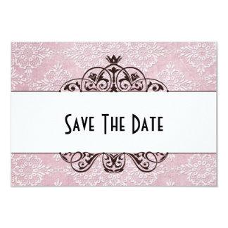 Réservez la date carton d'invitation 8,89 cm x 12,70 cm