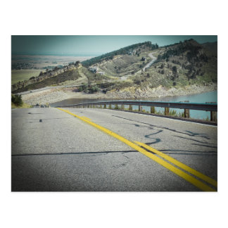Réservoir le Colorado de Horsetooth Cartes Postales