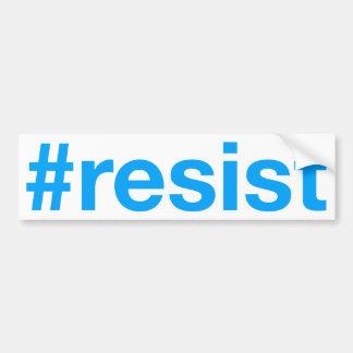 #resist autocollant de voiture
