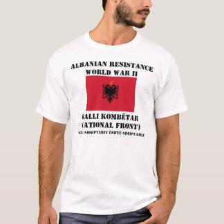 Résistance albanaise t-shirt