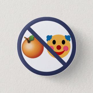 Résistez à la mangue Mussolini ! Badge Rond 2,50 Cm